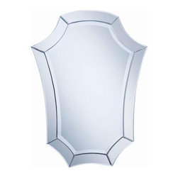 Cooper Classics - Cooper Classics Chloe Mirror, Frameless Mirror - Add style and elegance to your home's decor with the Chloe mirror. This enchanting frameless mirror is accent with beveled edges and will make a welcome addition to any room.