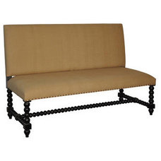 Traditional Indoor Benches by Greige