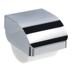 Gedy - Chrome Stainless Steel Commercial Toilet Paper Holder - Part of the Gedy Hotel collection, this toilet tissue holder is essential.