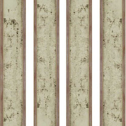 Paragon - Antiqued Mirrors PK/4 - Mirrors Decorative - Each product is custom made upon order so there might be small variations from the picture displayed. No two pieces are exactly alike.