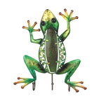 GSC - 15.25 Inch Green and Yellow Frog Wall Decor with Hanger Figurine - This gorgeous 15.25 Inch Green and Yellow Frog Wall Decor with Hanger Figurine has the finest details and highest quality you will find anywhere! 15.25 Inch Green and Yellow Frog Wall Decor with Hanger Figurine is truly remarkable.