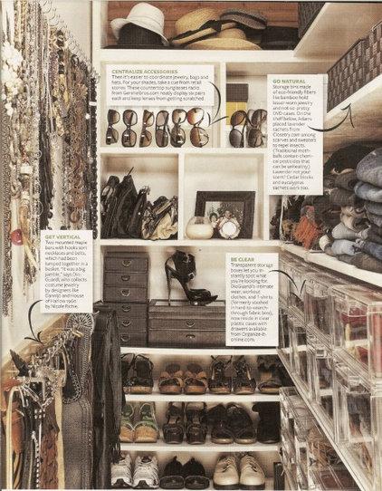 Contemporary  by Lisa Adams, LA Closet Design