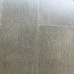 Metallic Charcoal - smooth - Grey and cool toned hardwood flooring sold by simpleFLOORS