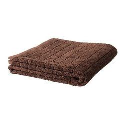 ÅFJÄRDEN Bath sheet - Bath sheet, brown