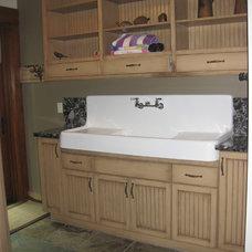Traditional Bathroom by Christine Suzuki, ASID, LEED AP