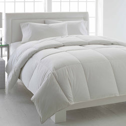 None - LC Classics European White Down Comforter - Wrap yourself in luxurious,soft comfort in every season with the LC Classics European White Down Comforter. The 400 thread count sateen cotton cover is soft to the touch and adds comfort.