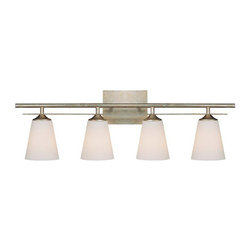 """Capital Lighting - Capital Lighting 1739-122 4 Light 31.5"""" Wide Bathroom Vanity Fixture from the So - Capital Lighting 1739-122 Soho Collection 4 Light 31.5"""" Wide Bathroom Vanity FixtureClassic styling from the Soho Collection, this four light vanity fixture is ideal for the traditionalist.Features:"""