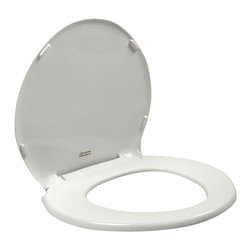 American Standard - Champion Slow Close Round Front Toilet Seat with Cover in White - American Standard 5330.010.020 Champion Round Slow Close Front Toilet Seat with Cover in White.