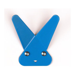Blue Frank Hook - These sturdy steel bunny wall hooks come in lots of colors, and they would be a fun gift for kids and adults alike.