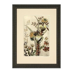 Anonymous - Oversized Fine Art Botanical Print Consigned Antique - Product Details
