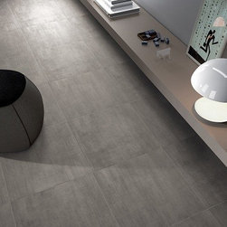 Modern Grey - Color body porcelain tile for an urban look in residential and commercial spaces.