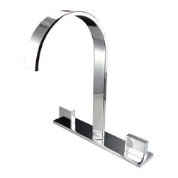 Fresca - Fresca - Sesia Widespread Chrome Bathroom Faucet - Fresca faucets are the same great faucets that ship with the vanities we sell here at DecorPlanet. Now you are able to purchase these faucets individually. This faucet is made from heavy duty brass and features a chrome finish.