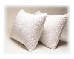 Daniadown Home - Triple Cotton Pillow Protector (Queen) - Choose Size: Queen