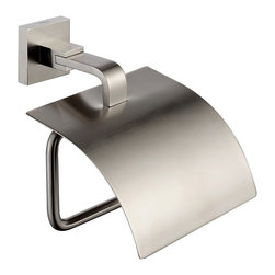 Kraus - Kraus KEA-14426BN Aura Bathroom Accessories - Tissue Holder with Cover - Kraus brand is a blend of quality and durability, complimented by elegance and style