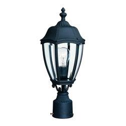 Dolan Design - Dolan Design 952-50 Roseville Traditional Outdoor Post Lantern Light - Dolan Design 952-50 Roseville Traditional Outdoor Post Lantern Light