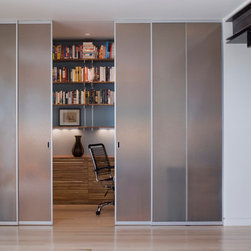 Sliding Doors - The best solution to add space and beauty to the room of your choice. Multiple designs you can choose from. Dazzling artistry to persuade the best taste and style. Rare and contemporary, our sliding doors promise a smooth slide every time. With their modern hardware and sophisticated designs they are able to impress all your quests. Built to last with high quality elements from Europe, all our doors are made using solid wood or glass. We also accent it with stainless steel strips and contemporary door hardware.