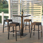 Custom Outdoor Dining Furniture - Outdoor modern hightop by north88 outdoor.