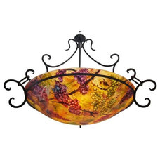 Mediterranean Chandeliers by Floravita Painted Chandeliers & Art