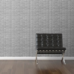 WallsNeedLove Elizabeth of Delightfully Tackys Wallpaper - Stacks of neutral colored chevrons make the WallsNeedLove Elizabeth of Delightfully Tacks Self-Adhesive Wallpaper a stylish way to decorate you walls. There's nothing permanent about this self-adhesive wallpaper. A breeze to use, simply peel and stick, then remove or reposition as you desire.About Walls Need LovePeel. Stick. Repeat. Walls Need Love started in 2009. They are a small company filled with people-loving sticker fiends. Walls Need Love wants to make your house the stylish dream home you've always wanted and do it with easy-to-use vinyl wall decals. Walls Need Love has been featured in Better Homes and Gardens, Good Housekeeping, USA Today, Fab, and Apartment Therapy.