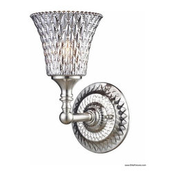 Elk Lighting 10080/1 1 Light Wall Sconce Victoriana Collection -