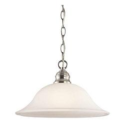 Kichler Lighting - Kichler Lighting 42902NI Tanglewood Transitional Pendant Light In Brushed Nickel - Kichler Lighting 42902NI Tanglewood Transitional Pendant Light In Brushed Nickel