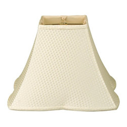 Royal Designs, Inc. - Square Empire Patterned Designer Lampshade - This Square Empire Patterned Designer Lampshade is a part of Royal Designs, Inc. Timeless Designer Shade Collection and is perfect for anyone who is looking for an elegant yet detailed lampshade. Royal Designs has been in the lampshade business since 1993 with their multiple shade lines that exemplify handcrafted quality and value.