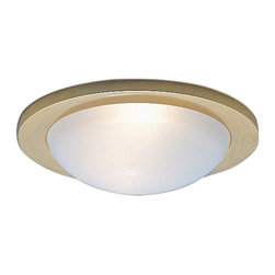 "Nora Lighting - 3"" Frosted Dome Shower Trim with Ring - 3"" Frosted Dome Shower Trim with Ring"