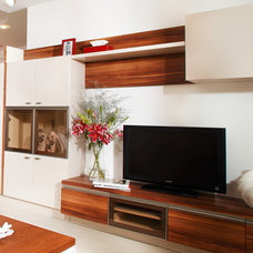 contemporary home electronics by Savio & Rupa Interior Concepts (Bangalore)