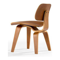 Aeon Furniture - Richmond Cherry Plywood Chair - Layered Bent Plywood Side Chair. Cherry Vener. Inspired by a Mid-Century Modern Classic . No Assembly Required. Seat Height: 17.5. 22.25 in. L x 19.75 in. W x 28.75 in. H (20 lbs.)Cherry plywood chair with wood legs created from layered bent hardwood.  The Richmond Chair is part of Aeon's Modern Classics Collection.  Aeon Furniture works with only the highest quality manufacturers providing superior craftsmanship with close attention to detail.  Our pieces are sure to meet your design needs.