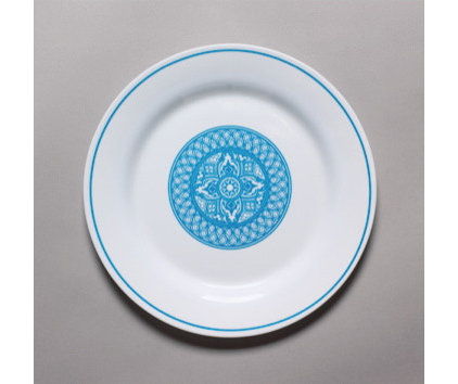 Eclectic Dinner Plates by Bongenre