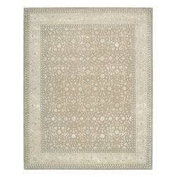 Nourison - NOUR-2322 Nourison Symphony Area Rug Collection - These beautiful, transitional rugs encompass a full range of colors that will suite and enhance your design palette. The blending of fine wool and art silk adds a shimmer that is reflected from all angles of the rug. This is a collection that is sure to provide an elegant symphony for the senses.