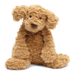 Jellycat - Quick Ship! Charmed Stuffed Toy - Latte Puppy - On Sale Charmed Stuffed Toy Latte Puppy