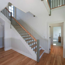 Traditional Staircase by Grounded