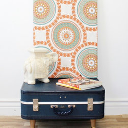Marc's Drab To Fab DIY Projects - turn an old suitcase into a side table