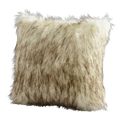 Cyan Design - Cyan Design Prairie Wolf Pillow in Grey - Cyan Design Prairie Wolf Pillow in Grey from Decorative Pillows Collection