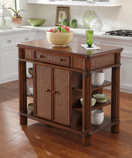 Contemporary Kitchen Islands And Kitchen Carts by Overstock.com