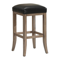 Casablanca Stool - Do you like company in the kitchen but don't have seating? This stool is the answer. Comfy enough to sit for a while, small enough to be out of the way and easy enough to stow away, this beautiful stool will make your guest feel right at home.