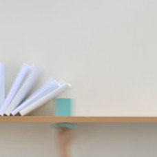 Modern Wall Shelves by colleenanderic.com