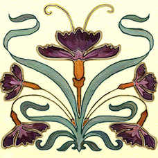 Traditional Tile by Connie's Custom Creations