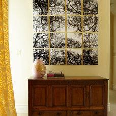 Eclectic Bedroom by Carolyn Rebuffel Designs