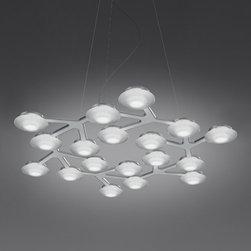 Artemide - Artemide   LED Net Circle Suspension - Design by Michele De Lucchi and Alberto Nason.