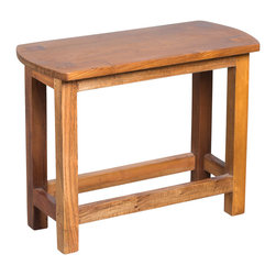 Wooden Milking Bench - Product features: