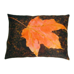 Lava - Float 14X18 Decorative Pillow (Indoor/Outdoor) - 100% polyester cover and fill.  Suitable for use indoors or out.  Made in USA.  Spot Clean only