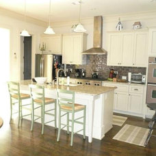 Contemporary Kitchen Cabinetry by Southern Cabinet Works Inc