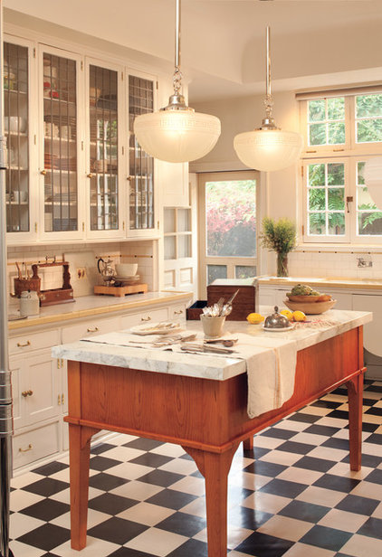 Traditional Kitchen Lighting And Cabinet Lighting by Rejuvenation