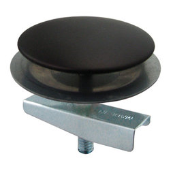 Kingston Brass - Oil Rubbed Bronze Plated Faucet Hole Cover - The oil-rubbed bronze plated faucet hole cover is designed to hide the unused holes seen on the sink deck. The cover comes in four different finishes to color coordinate with other kitchen items as well as covering up the unsightly hole.