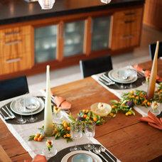 Contemporary Kitchen by Jennifer Gustafson Interior Design