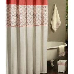 Sherry Kline Romance Shower Curtain with Hook Set -