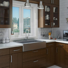 Contemporary Kitchen Cabinetry by Domain Cabinets Direct, Inc.