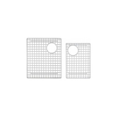"22.5""X17"" Bottom Grid In Stainless Steel - This bottom sink grid fits the large side of the Farmhouse Duet Pro sink and the Cocina Duet Pro sink. The grid comes in either a mocha finish or stainless steel."